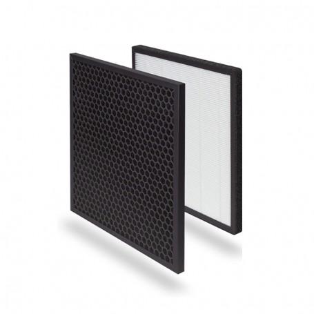 Filtros de reposição - Purificador de ar com filtro HEPA + 6 etapas de filtragem
