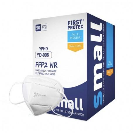 Máscara FFP2 infantil First Protect - 95% filtração - CE1463 - Lotes de 5 a 500 unidades