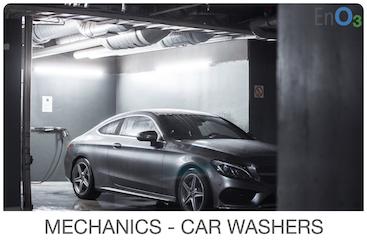MECHANICS - CAR WASHERS